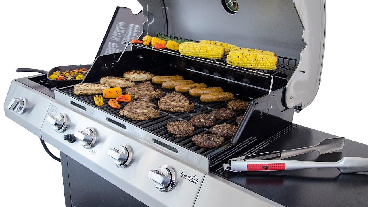 Enjoy cooking in built-in gas grills